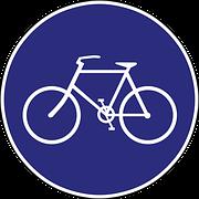 fiets verkeersbord